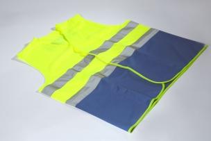 Security Vests EN471 BHV Yellow-Blue