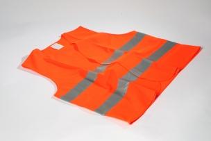 Security Vests EN ISO 20471 Orange