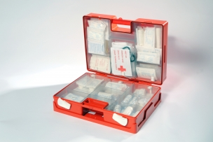 First aid kit DIN 13169