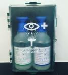 Station de lavage oculaire pour 2 rince oeils